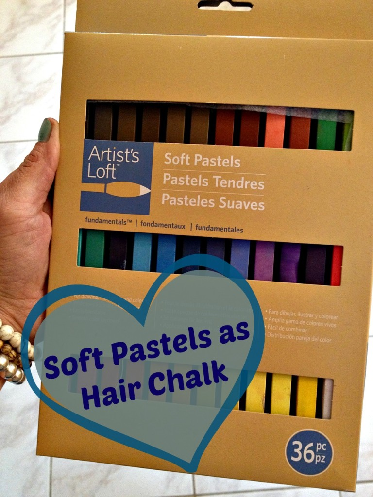 soft pastels as hair chalk (1)