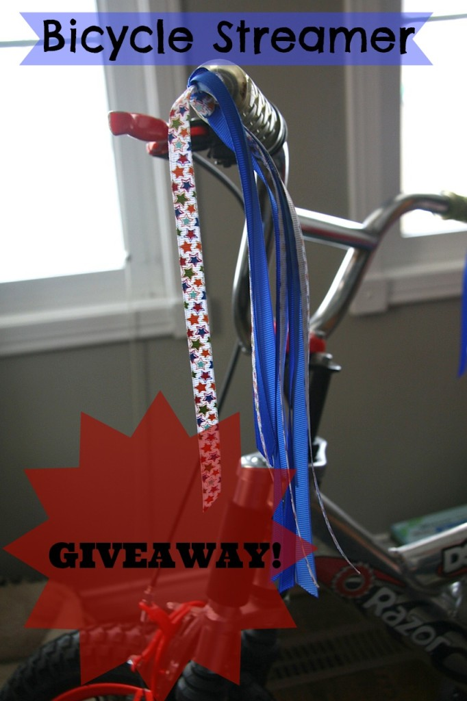 bike streamer giveaway