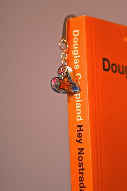 shrinky dink bookmark finished