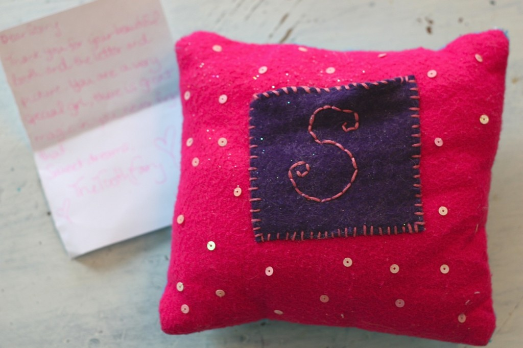 Story's tooth fairy pillow