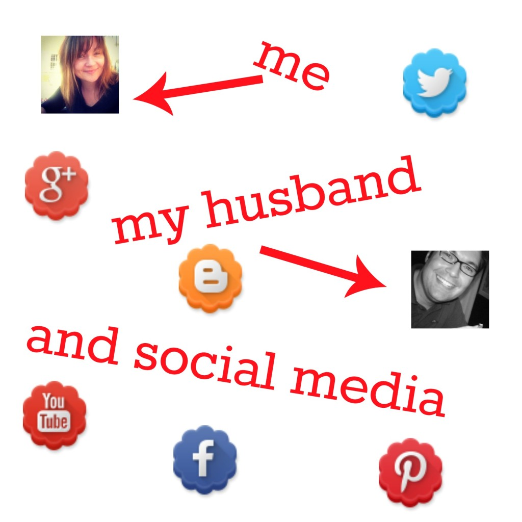 me my husband and social media