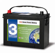 CAA-green-power-battery