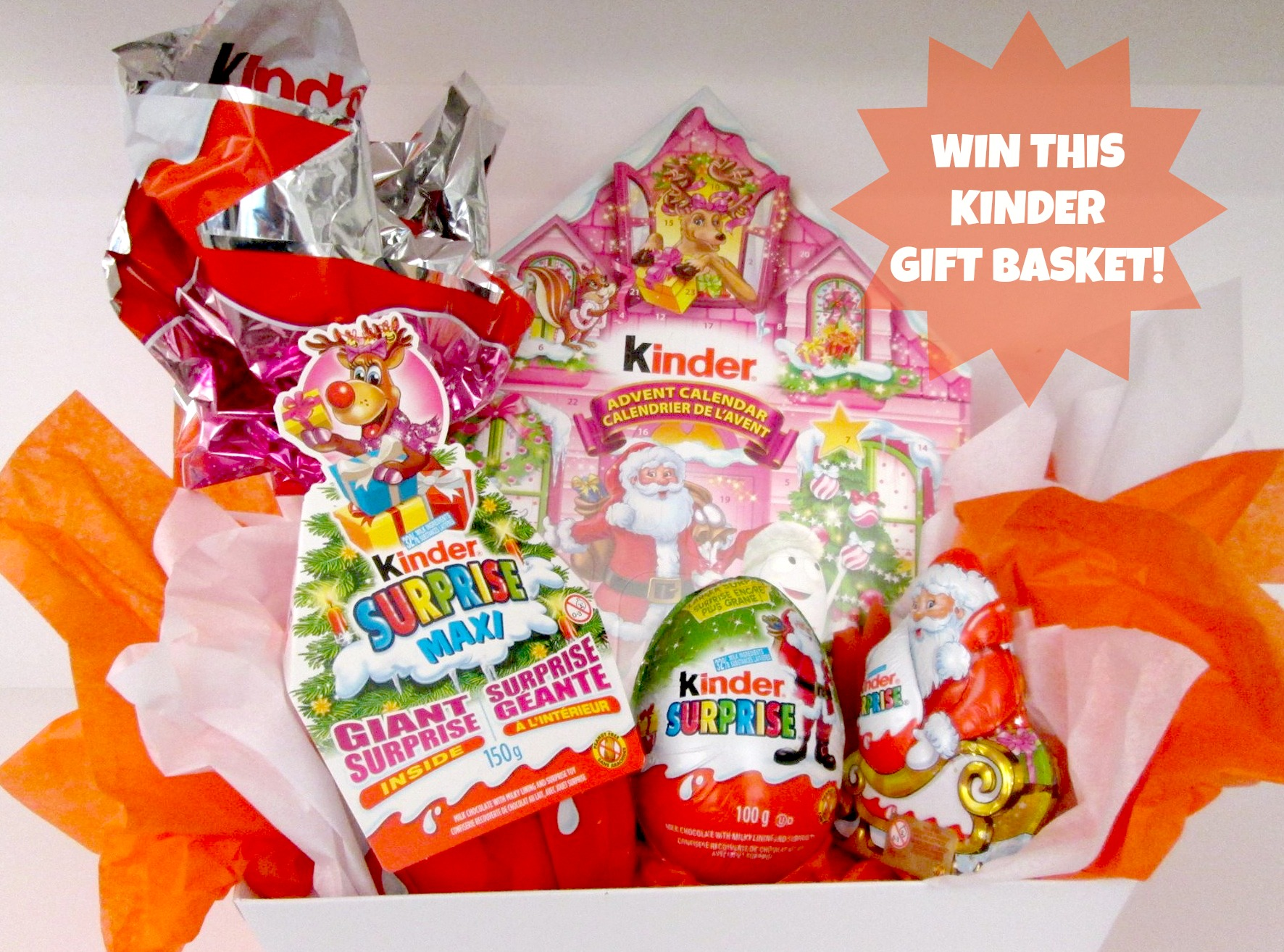 Kinder Giveaway from IDontBlog.ca