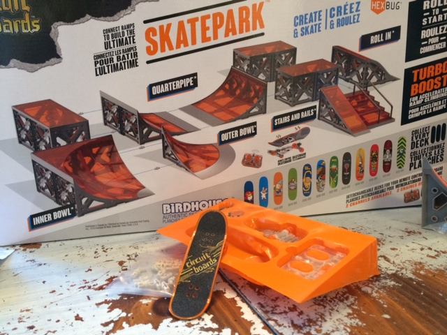 HexBug Tony Hawk RC Skateboard Skate Park Review courtesy Mastermind Toys