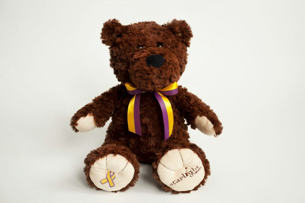 Say hi to Hiya, Starlight Foundation's special bear, being sold to raise funds for this amazing charity.