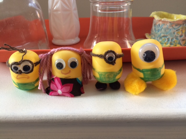 Kinder Egg Minions!