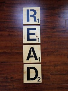 "Win these beautiful handmade ""R-E-A-D"" scrabble tiles by Bug's Grove for the special teacher in your life in the Ultimate Teacher Gift Guide Giveaway at IDontBlog.ca!"