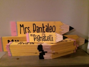 Words On Wood Teacher Gifts
