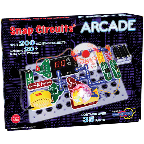 The Snap Circuits Arcade at Mastermind Toys is a fantastic gift to get kids excited about STEM projects!