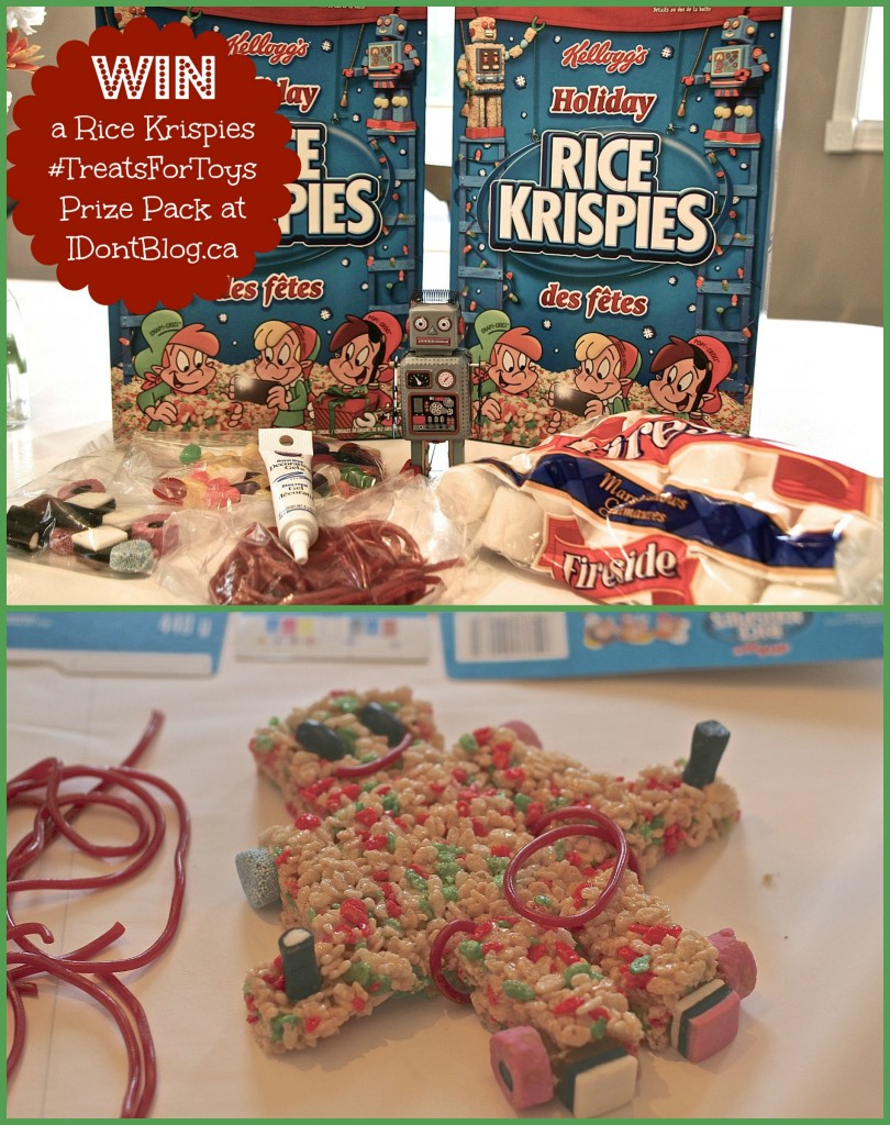 Win a #TreatsForToys Prize Pack at IDontBlog.ca and help give toys to less fortunate kids this holiday season!