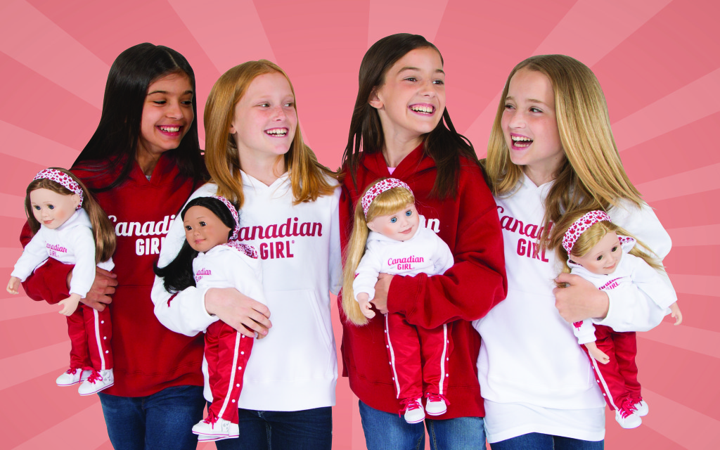 Win a matching hoodie for your Canadian girl and her Maplelea doll at IDontBlog.ca
