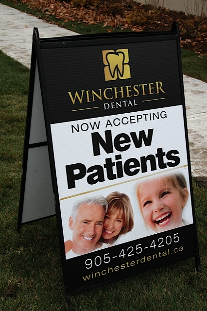 Winchester Dental in Brooklin ON is accepting new patients in their gorgeous office!