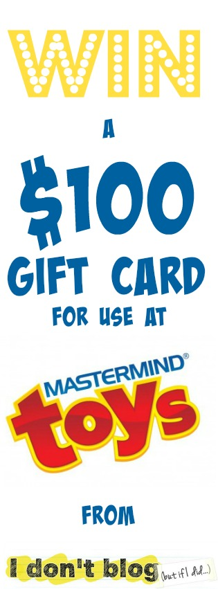 Find out more about the Snap Circuits Arcade kit, and enter to win a $100 gift card for use at Mastermind Toys from IDontBlog.ca!