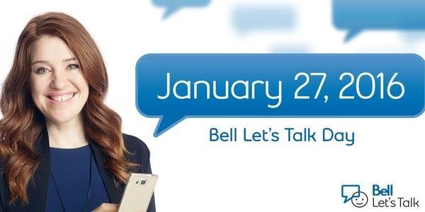 Bell Let's Talk Day #BellLetsTalk