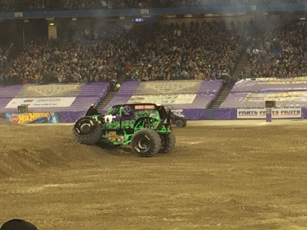Monster Jam is unpredictable, and that's part of the fun