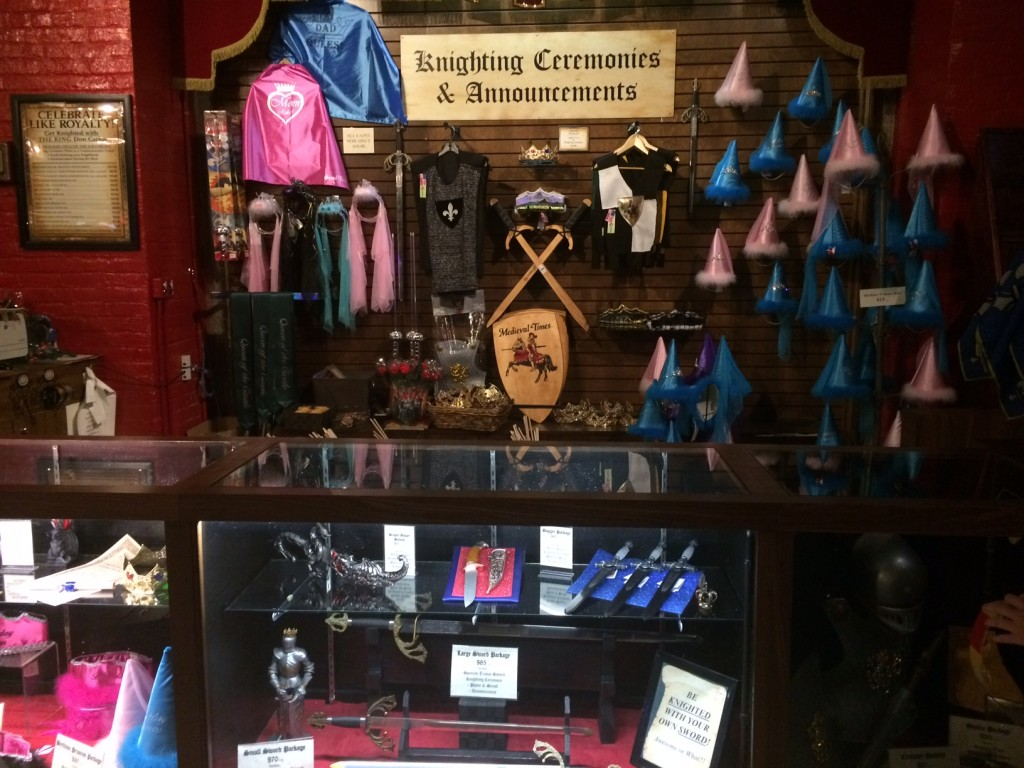 Visit the gift shop when you win tickets to Medieval Times Toronto from IDontblog.ca