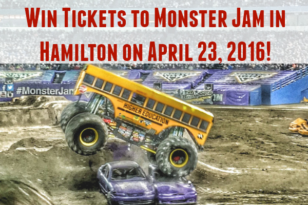 *~ CLOSED ~* 10 Reasons to Go to Monster Jam in Hamilton