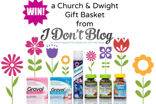 *~CLOSED~* Spring Cleaning Yourself with this Church & Dwight Giveaway!