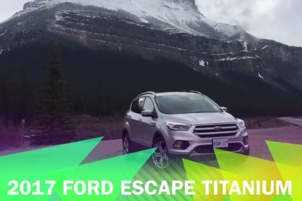 2017 Ford Escape Titanium AWD w Tech Package Review -- IDontBlog.ca
