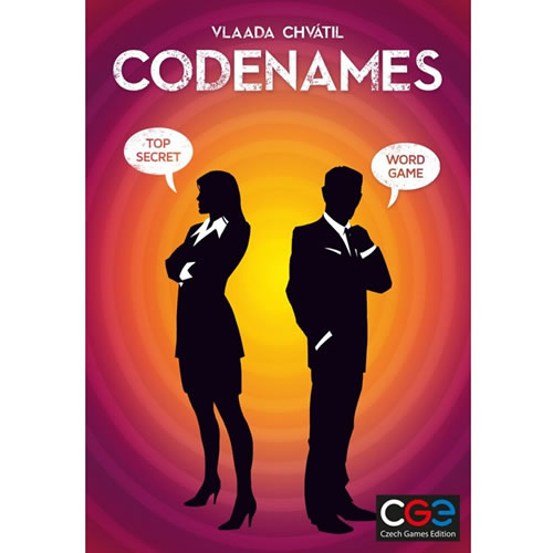Codenames is a great game for the over-12 crowd. Find out more at Mastermind Toys. -- IDontBlog.ca