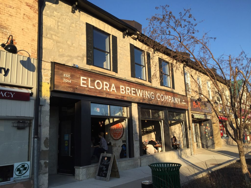 Elora Brewing Company has great beer and grub for the whole family