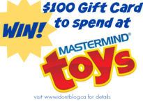 WIN $100 to spend at Mastermind Toys at IDontBlog.ca!