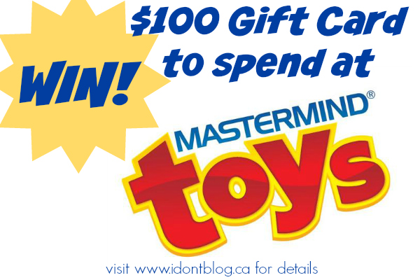 *~CLOSED~* Want $100 to Spend at Mastermind Toys?