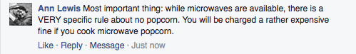 No microwave popcorn at Great Wolf Lodge! Find more tips at IDontBlog.ca