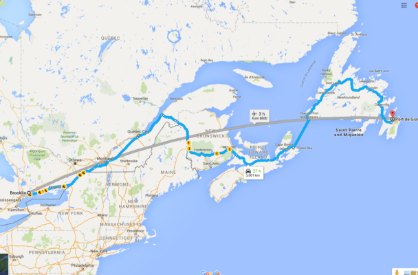 How to Plan a Road Trip from Ontario to Newfoundland I dont blog