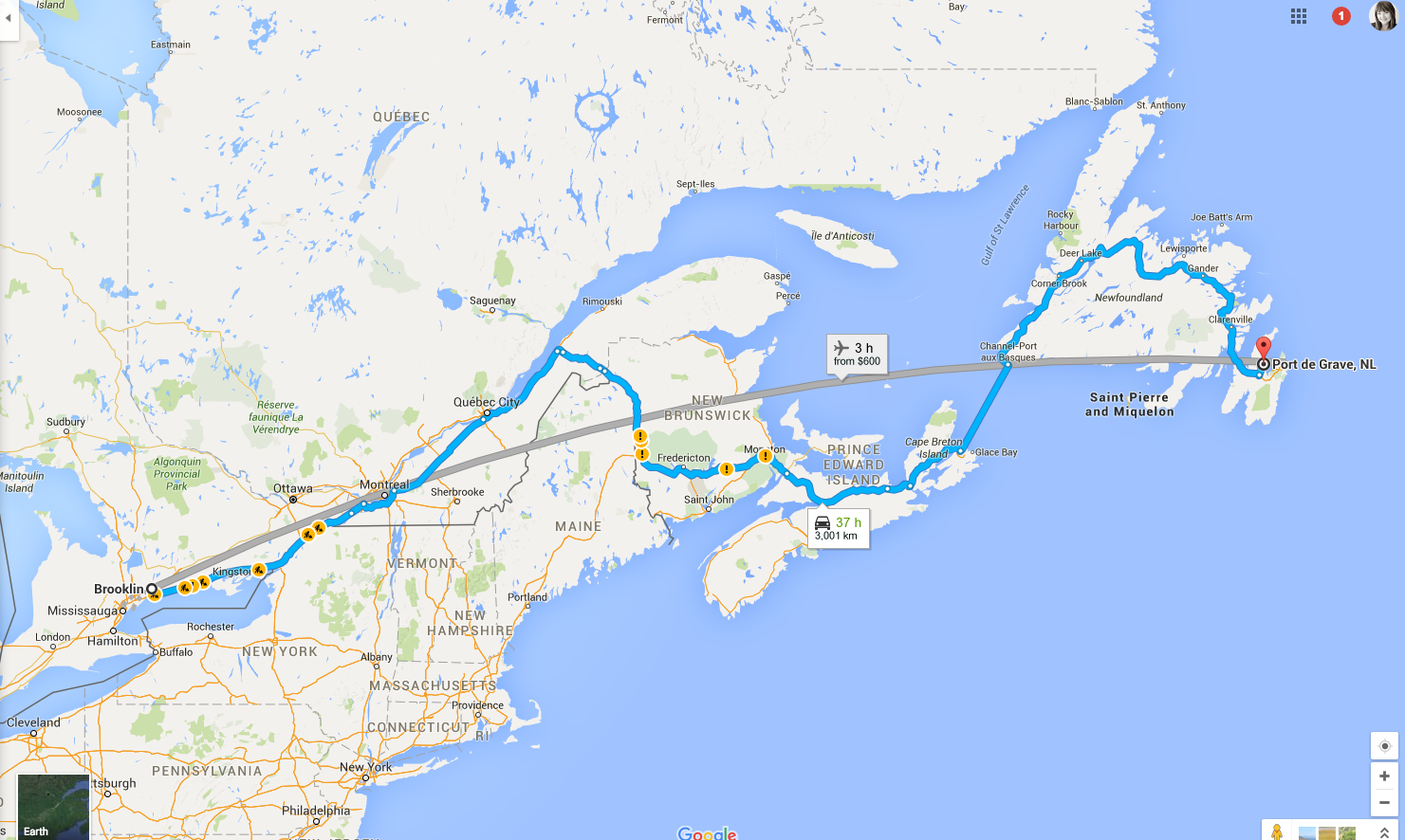 How to Plan a Road Trip from Ontario to Newfoundland