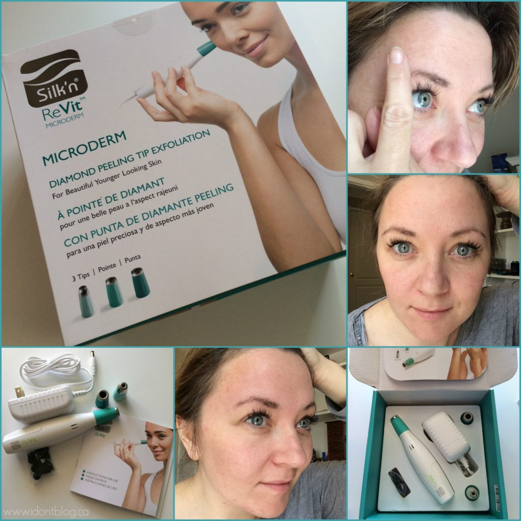 Silk'n ReVit Microderm Kit Review at IDontBlog.ca