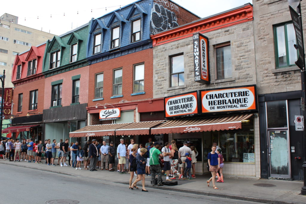 Schwartz's deli is worth the wait