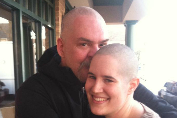 #ShowMeYourBrave: How His Bravery Inspired Her to #BeBraveGoBald