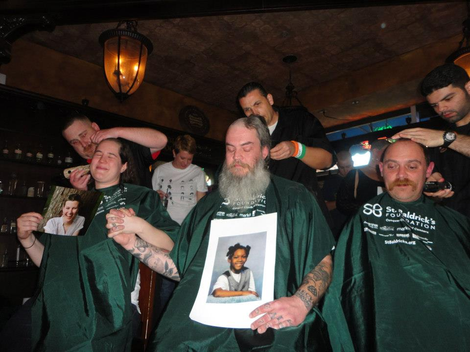 #ShowMeYourBrave- St. Baldrick's funds paediatric cancer research