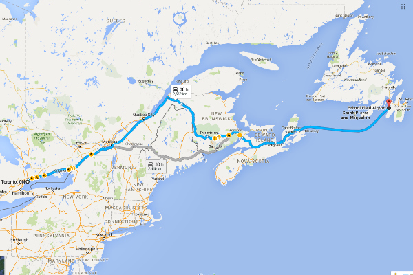 Ontario to Newfoundland Road Trip Itinerary