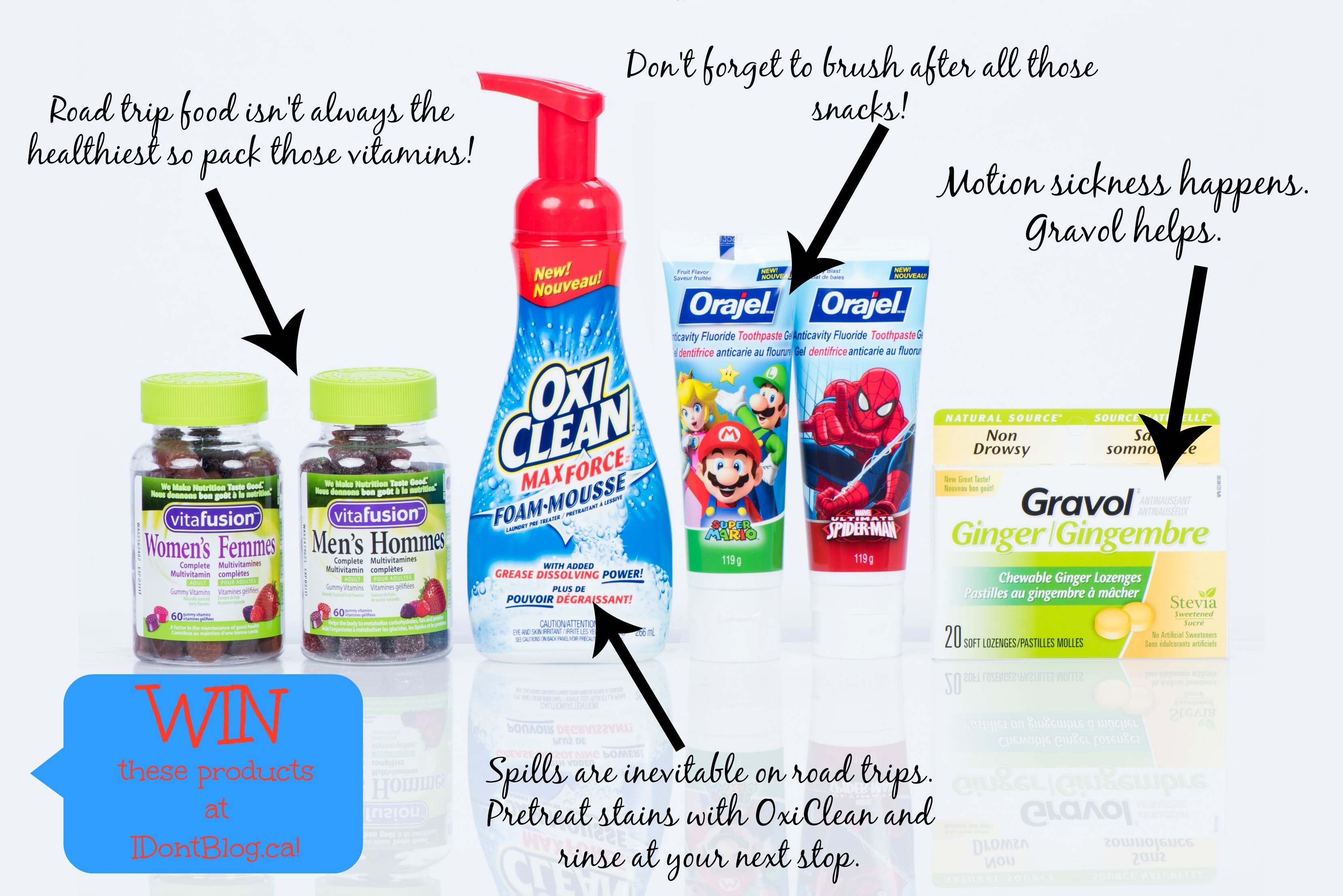 Win these Church & Dwight products over at IDontBlog.ca