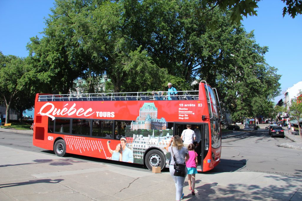Bus Rouge is an absolute must for families wanting to see everything while managing the interests of yound kids