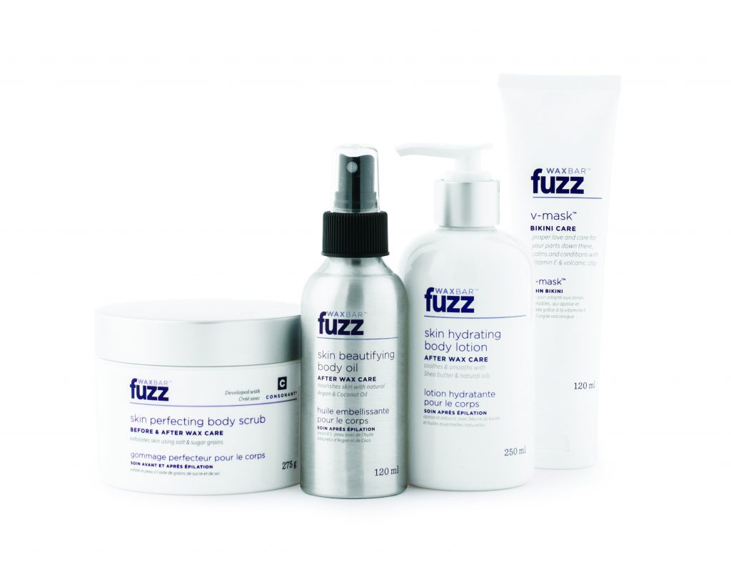 Fuzz products are soothing, luxurious, and help keep nasty ingrown hairs away
