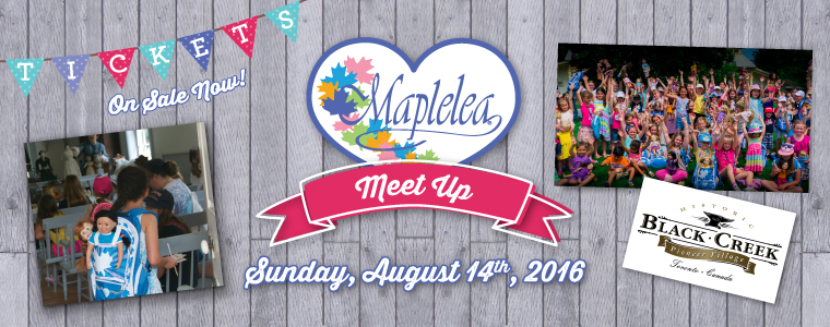 Maplelea Meet-Up giveaway at IDontBlog