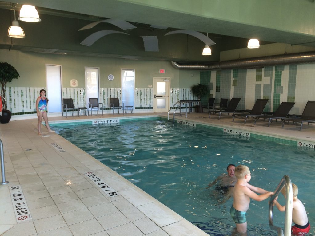 Marriott Residence Inn in Moncton has a great pool