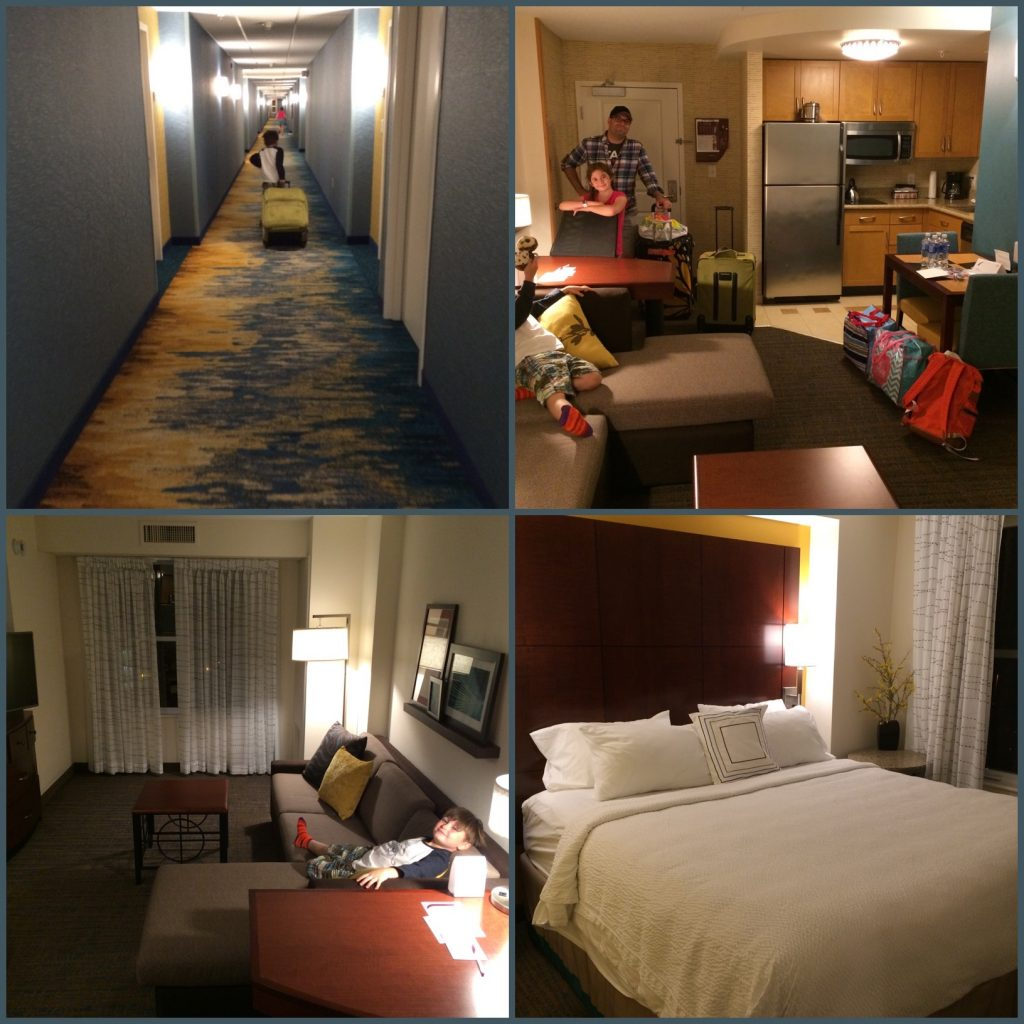 The Marriott Residence Inn in Moncton was the perfect place for our family
