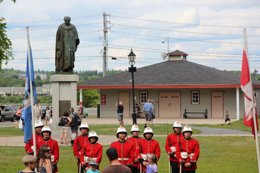 The changing of the guard in the Garrison District of Fredericton is really something to see