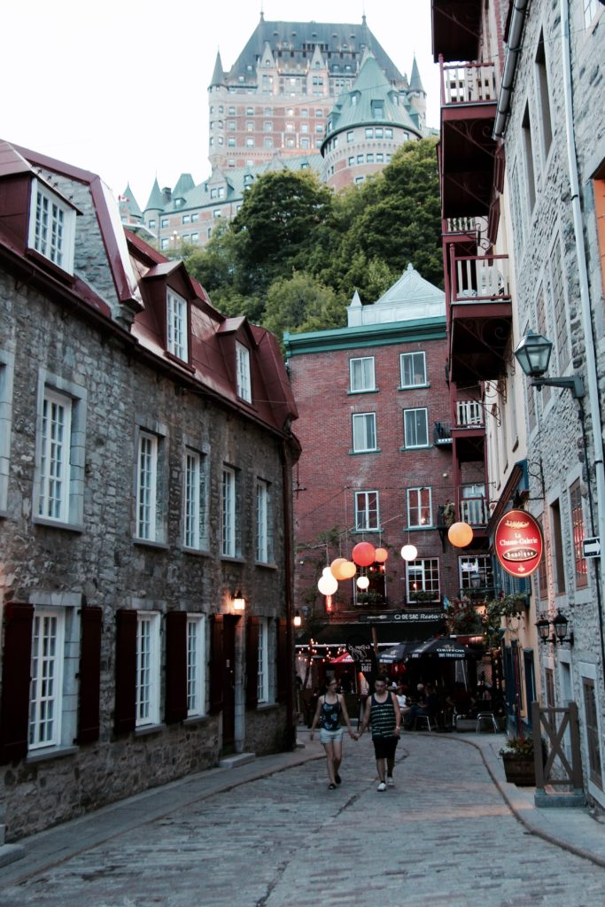 Wandering through Old Quebec is inspiring