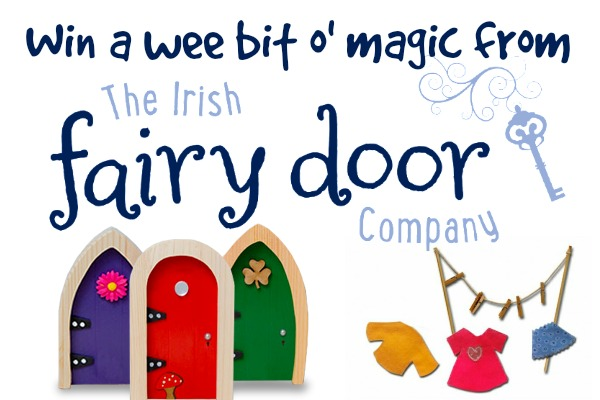 *~giveaway closed~* Win a Wee Bit o' Magic From the Irish Fairy Door Company