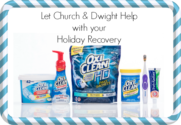 *~ CLOSED ~* Church & Dwight Wants to Help Your Home's Holiday Recovery (giveaway!)