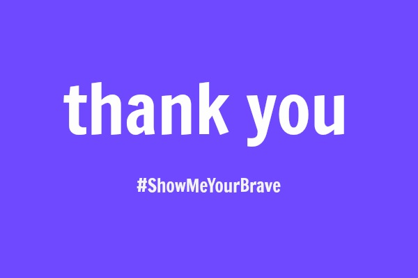#ShowMeYourBrave: Bravery Comes in All Sizes