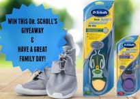 Dr Scholl's Giveaway and Family Day Tips at IDontBlog