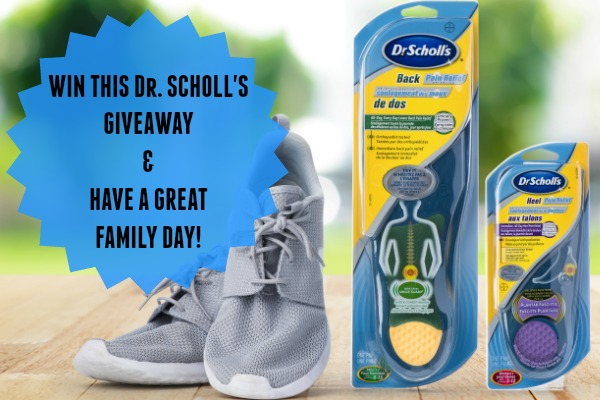 *~ GIVEAWAY CLOSED ~* Dr. Scholl's® to the Rescue this Family Day (sponsored)