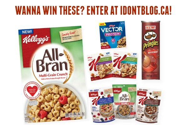 Win this awesome Kellogg's prize pack at IDontBlog