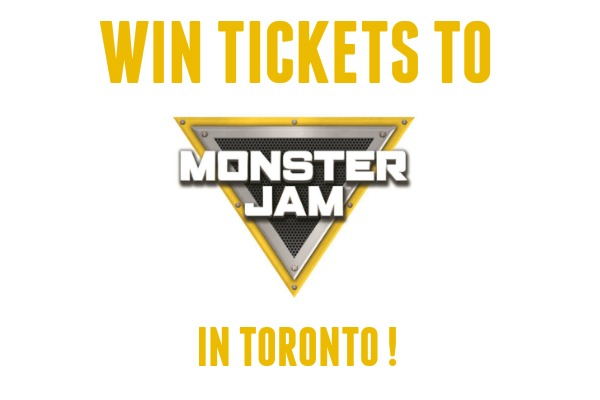Rev Up the Fun at Monster Jam® in Toronto (Giveaway CLOSED)